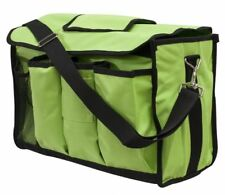 LIME GREEN Nylon Cordura Horse Grooming Carrier by Showman! NEW HORSE TACK!
