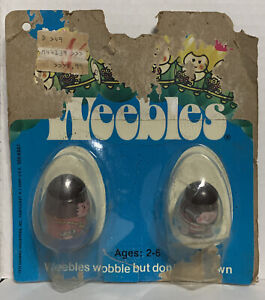 Vintage 1975 Hasbro Weebles Wobble They Don't Fall Down Original Package Damaged