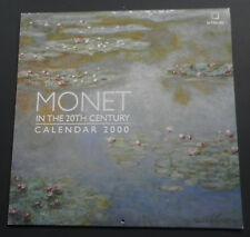 Monet in the 20th Century-Calendar 2000-Photos of Paintings-Mint-Could be Framed