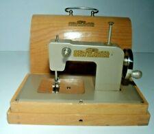 Vintage  Kayanee Sew Master Child's Sewing Machine, In Wood Case
