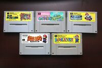 Super Famicom SFC Super Mario World Collection RPG Kart Yossy Island US Seller