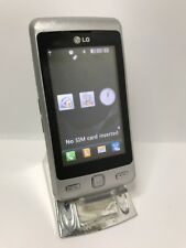 LG KP501 Cookie - Silver Mobile Phone Smartphone Faulty Spares Or Repairs