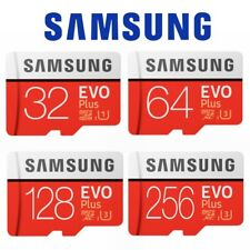 Micro SD Card SamSung Evo Plus 32GB 64GB 128GB 256GB Class 10 SDHC SDXC Memory