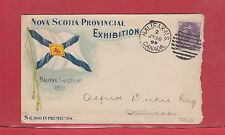 Nova Scotia Provincial Exhibition 1899 Halifax 2c Numeral Canada cover