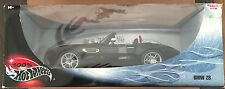 Hot Wheels BMW Z8 Roadster Convertible Cabrio E52 Black w/Red 54576 1/18