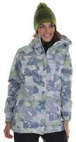 686 Acc Empire Insulated Ski Snowboard Jacket Sky Print Womens