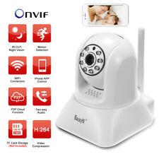 EasyN 720P Wireless IP Camera H.264 WIFI Pan Tilt PTZ Two-way PIR IR APP Control