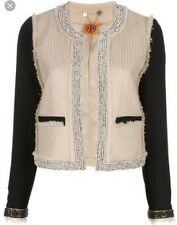TORY BURCH Sairy Jacket Size 10 Retail $895 Sold Out! NEW!
