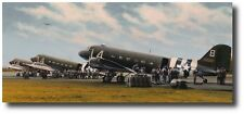 Eve of Destiny by Richard Taylor - C-47 Dakota - Aviation Art - w/ Sigs - A/P