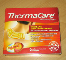 THERMACARE Wärmeauflagen Nacken Schulter Hand 2 Stk Tiefenwärme Schmerz Pflaster
