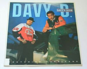 Davy D Featuring Hurricane – Davy's Ride - O.G. Def Jam US 1987 - FC 40657