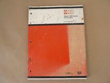 VTG Service Parts Catalog Case International Model 1500 Series Uni-Loaders 1975