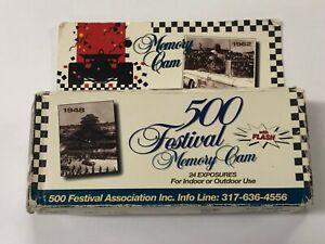 ELC03_043a 500 Festival Memory Cam 35mm Single Use Camera