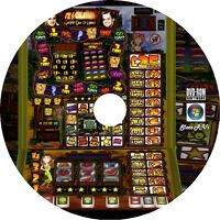 Fruit Machine Emulator DVD 1200+ Machines PC Laptop Touch Screen Slot Windows