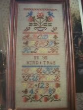 Be Ye Kind and True OOP Magazine Cross Stitch Pattern (Z)