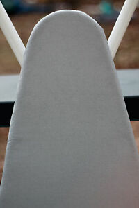 CHECKYS DEALS Standard  SILVER SILICONE IRONING BOARD COVER NO PAD 15 x 55 DRAW