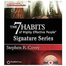 THE 7 HABITS OF HIGHLY EFFECTIVE PEOPLE SIGNATURE SERIES on CD  STEPHEN R. COVEY