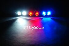 RC Lights Super Bright LED Light set for Traxxas E-Revo or Slash 1/16 2W2R2B 3mm
