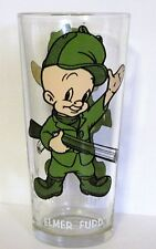 Pepsi Collector Series Glass Tumbler 1973  Elmer Fudd Looney Tunes Warner Bros