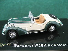 Ricko (1:87) 1936 Wanderer W25K Roadster (Green/Ivory) #38649