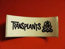 Transplants Haunted Barker Bike Board Bumper SM Sticker
