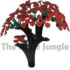 Custom LEGO Red Flower Tree
