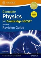 Complete Physics for Cambridge Igcse Rg Revision Guide, Paperback by Lloyd, S...
