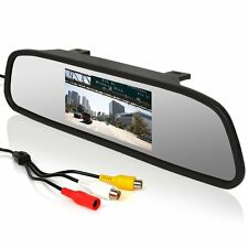 Car Reverse Parking Camer Rearview Mirror TFT Color Monitor LCD Screen Display