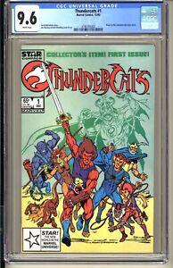 THUNDERCATS #1  CGC 9.6 NM+ WP  Marvel STAR Comics 1985 Based Animated TV series
