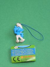 Schtroumpf Costaud figurine Porte-clés 3D Bijoux strap charm Cool Things Smurf
