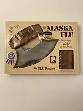 Alaska Ulu Legendary Knife Of The Arctic Ulu Factory 1993 Genuine Alaskan Wood