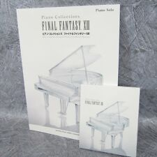 FINAL FANTASY XIII 13 PIANO COLLECTIONS Set of SCORE & MUSIC CD Book *