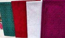 Mantel Ganchillo 140x220 Häkeltischdecke Punta Tela Blanco Verde Rojo Manta