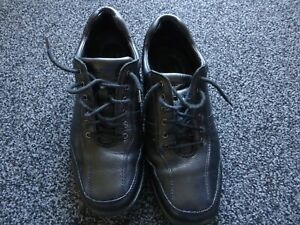 HUSH PUPPIES DUAL FIT MENS  LEATHER SHOES SIZE 12