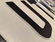 Pressed Metal Number Plate 100% UK Legal Front Or Rear Single TOP QUALITY