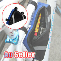 Triangle Cycling Bags Frame Waterproof Bike Front Tube Storage Bag Pouch Bicycle