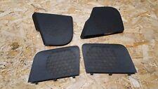 AUDI A3 8P 3 DOOR BLACK SPEAKER COVER GRILLE SET 8P3035436 /35 8P3035419 / 20
