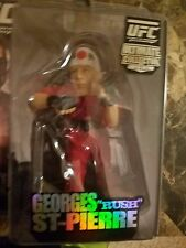 GEORGES ST. PIERRE  Round 5 Series 1 UFC Figure  Rare Limited Edition 2338/3000