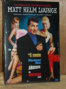 Matt Helm Lounge (Silencers/Wrecking Crew/Ambushers/Murderers Row) (DVD, 2005...