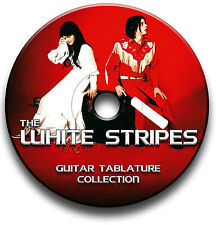 THE WHITE STRIPES ROCK GUITAR TAB TABLATURE SONG BOOK  SOFTWARE LIBRARY CD