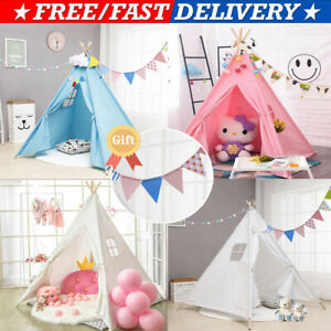 1.6M Children's Tents Play House Tent Wigwam Kids Little Teepee Room Decoration