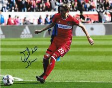 Daniel Johnson signed Chicago Fire MLS Soccer 8x10 photo autographed 4
