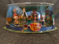 Phineas & Ferb Figurine Playset - Complete Authentic Disney Store Figures in Box
