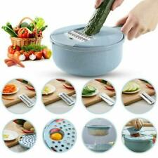 9 IN 1 Multi-function EASY FOOD CHOPPER Mandoline Vegetable Cutter Food Slicer