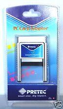 Adattatore per Compact Flash tipo 2 su slot PCMCIA, CF II, Pretec P/N 80200198-1