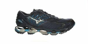 Mizuno Mens Wave Prophecy 8 Blue Wing Teal-silver Running Shoes Size 10