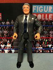 WWE Wrestling Jakks Classic Superstars Backstage Road Agent Manager Figure