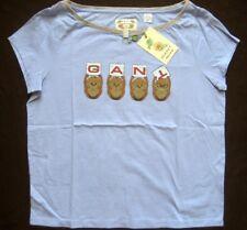 GANT Kinder T-Shirt MONKEY SS T-SHIRT Gr. S Hellblau mit Motiv