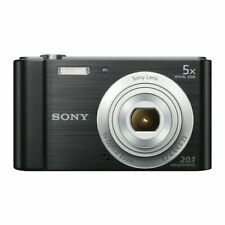 SONY Digital Compact Camera 20.1 MP 5x Zoom 2.7 LCD 720p HD 23mm Sony G Lens