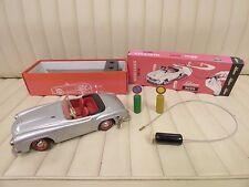 SCHUCO 2095 Mercedes 190 SL Remote Control Clockwork Wind Up Toy Car w/ Box